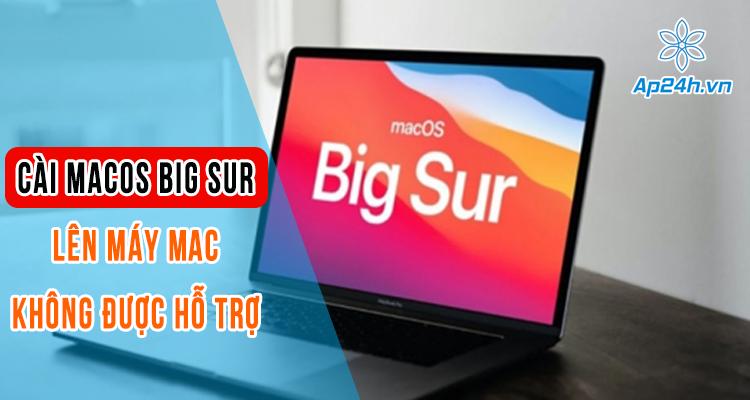 cài macOS Big Sur cho Mac