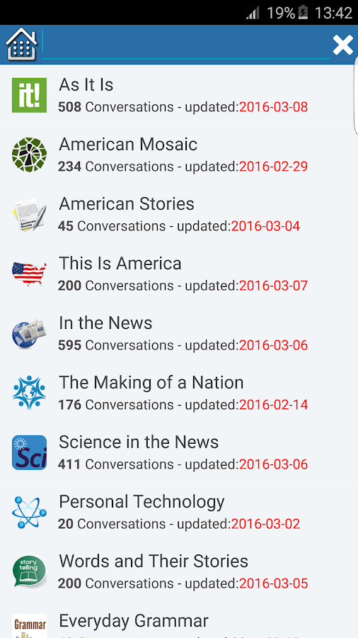 American English Conversation- screenshot