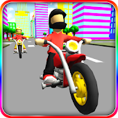 Super Cartoon Bike Racing 3D