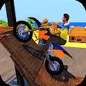 Racing Bike Stunts & Ramp Riding icon