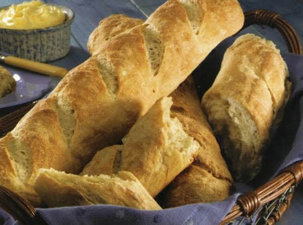 No Knead French Bread Recipe | Just A Pinch Recipes