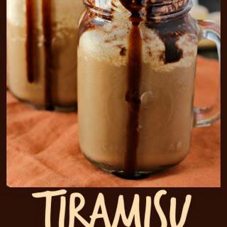 Tiramisu Frozen Coffee.