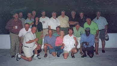 Photo: From the archives- An early Mad River Outfitters group including Jim and Donna Teeny right next to Brian FlechsigSome great friends and customers here- some still join us every year at the club