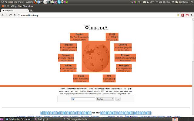 Ubuntu Orange Selection Color