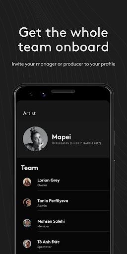 Amuse Music Distribution 3.4.0 screenshots 4