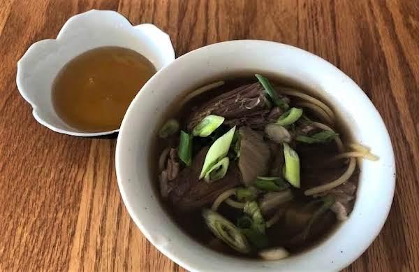 Korean Beef Short Rib Soup
