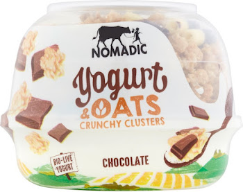 Nomadic Yogurt and Oats Crunchy Clusters Chocolate - 169g
