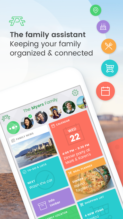 Picniic - Family Organizer- screenshot