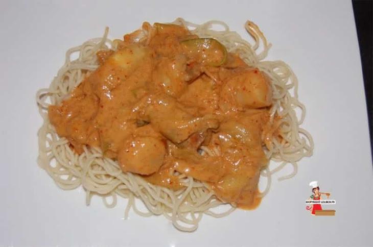 Scallop Curry Recipe