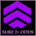 SURE 2+ ODDS icon