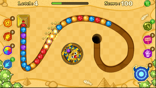 Jungle Marble Blast screenshot 13