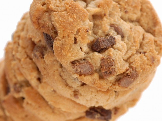 Simple Peanut Butter Chocolate Chip Cookies