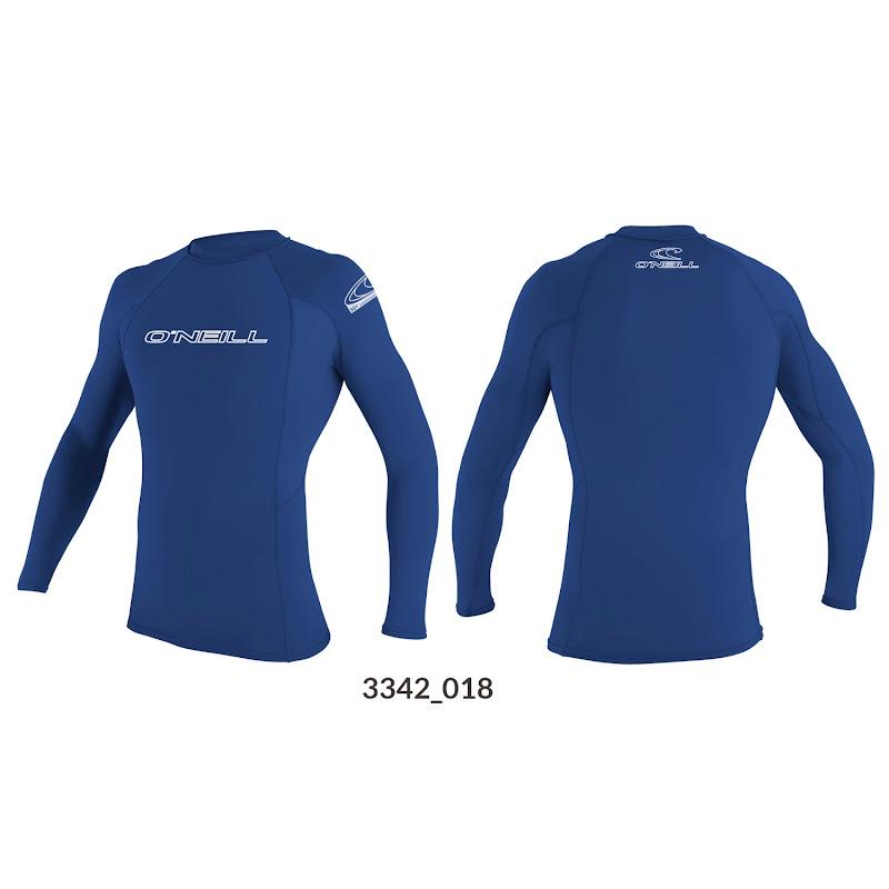 Basic skin L/S crew Blauw O'NEILL 3342