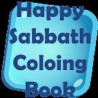 Happy Sabbath Coloring Book icon