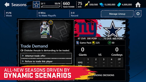 Madden NFL Mobile Football screenshot 2
