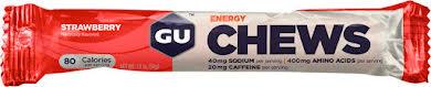 GU Energy Chews: Strawberry, Box of 18 alternate image 0