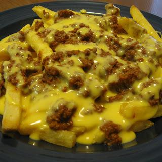 Deer Chili Cheese Fries.