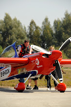 Photo: German Pilot Matthias Doldererprepares for take off at Miai airport for a qualifying session of the fifth round of the 2009 Red Bull Air Race World Championship in Porto, Portugal,  September 12,  2009.  (Tom Lovelock/Red Bull Air Race via AP Images). FOR EDITORIAL USE ONLY
