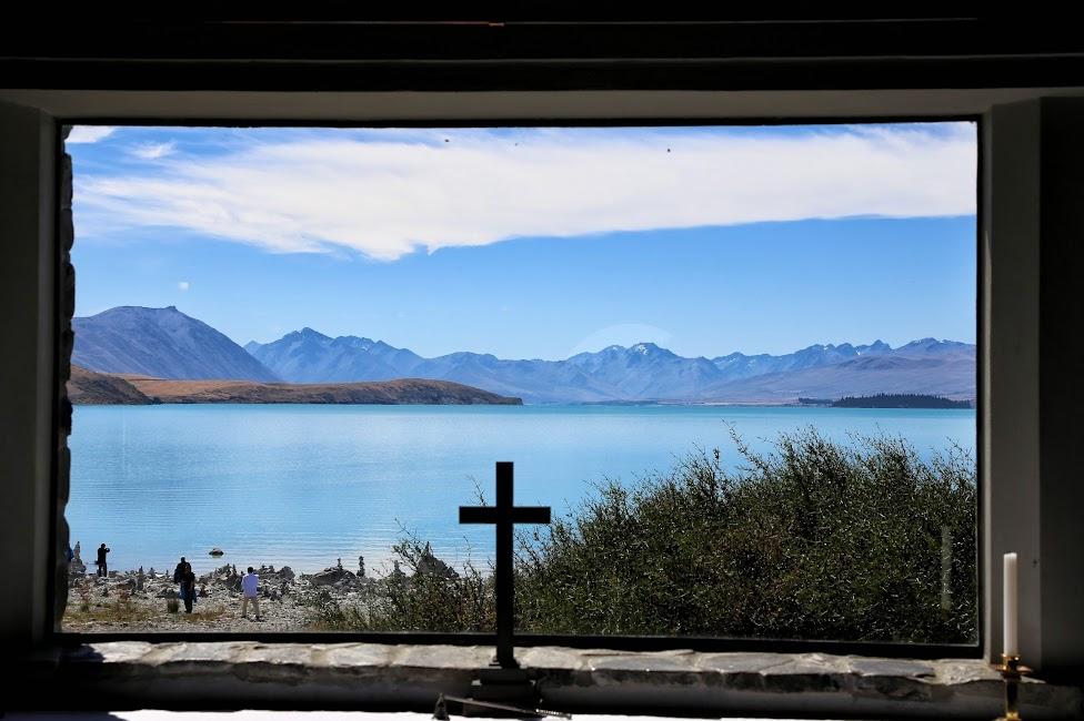 Kościół nad Jeziorem Tekapo - Nowa Zelandia
