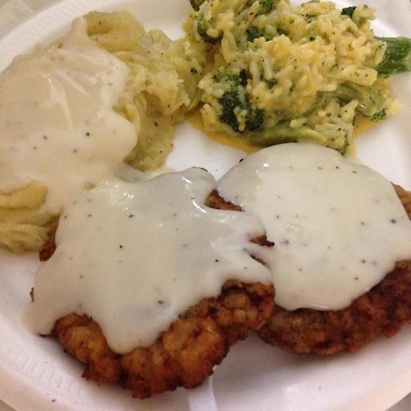 Easy Southern Chicken Fried Steak Recipe