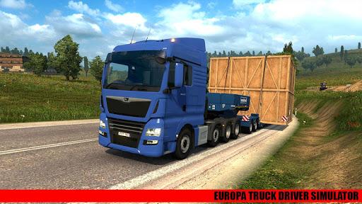Code Triche Europa Real Trucks Simulator 19 : Truck Drivers APK MOD screenshots 4