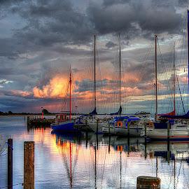 by Karen McKenzie McAdoo - Transportation Boats (  )