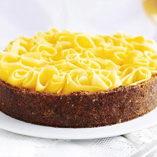 Ginger Mango Cheesecake