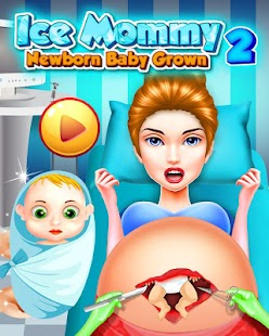Ice Mommy Newborn - Baby Grown ii - náhled