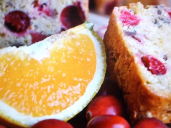 Great Grandmother Adam's Cranberry Bread Recipe