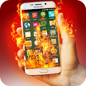 Screen On Fire Prank