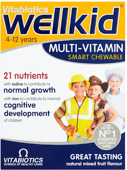 Vitabiotics WellKid Smart Chewable Tablets - 30 Count