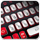 White And Red Simple Keyboard apk