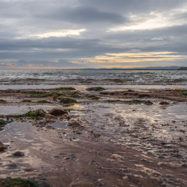 Beach by Wendy Richards - Landscapes Beaches ( water, sand, sky, sea, beach,  )