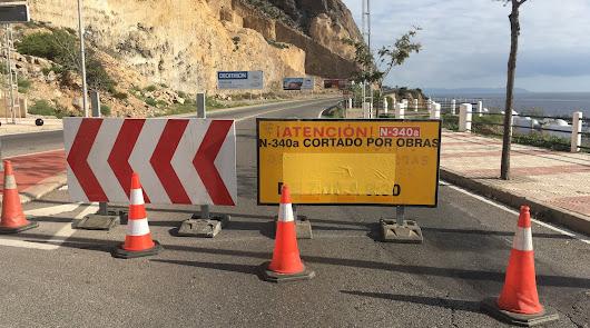 Carretera cortada desde el 31 de diciembre de 2019.
