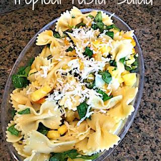 Tropical Bowtie Pasta Salad.