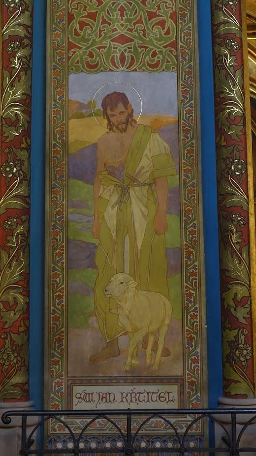 其中一幅聖人繪像