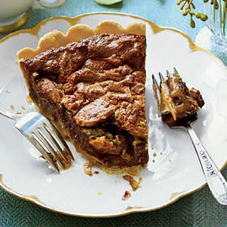 Chocolate-Caramel Pecan Pie.