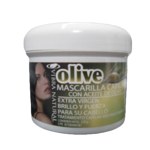 baño de crema vibra natural mascarilla oliva 220gr