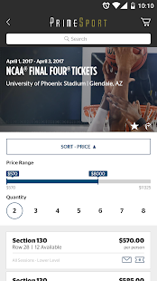 PrimeSport - Sports Tickets- screenshot thumbnail