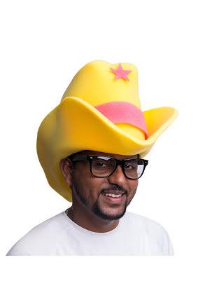 Hatt, Skumgummi-cowboy