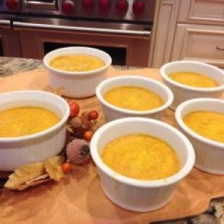 Paleo Pumpkin Crème Brûlée.