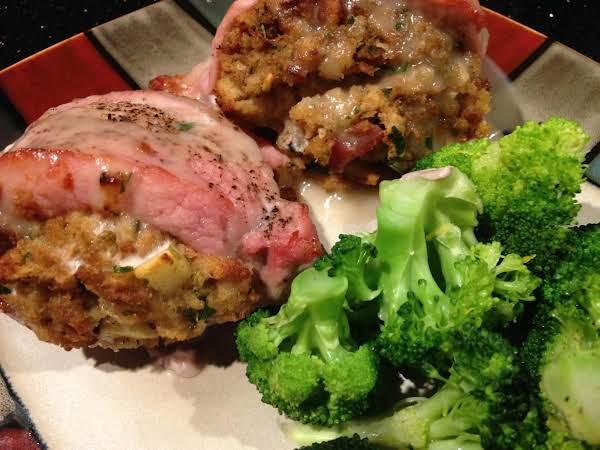 Lora's Stuffd Pork Chops Recipe