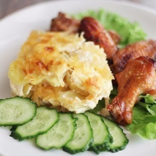 Low-Carb Potato Gratin