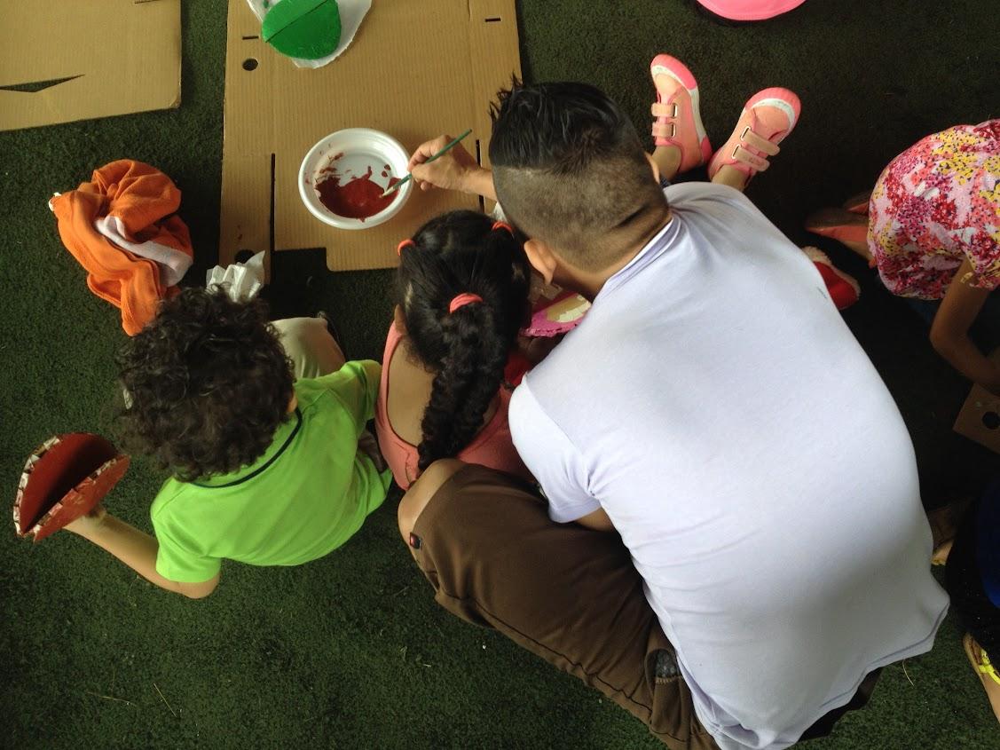 CAI SAN CARLOS REALIZA ACTIVIDADES PARA PROTEGER NIÑOS Y ADOLESCENTES DURANTE LAS VISITAS CARCELARIAS