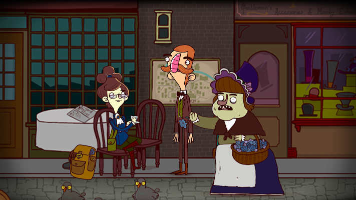 Bertram Fiddle Episode 2: A Bleaker Predicklement- screenshot