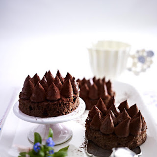 Chocolate Mousse Tarts.