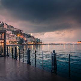 Kuşadası Ege Port by Murat Besbudak - City,  Street & Park  Street Scenes