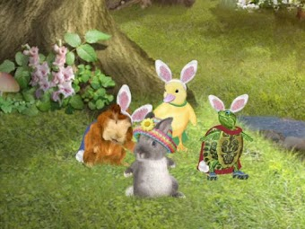 Help the Easter Bunny!/Save the Visitor's Birthday Party!
