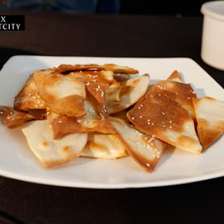Lavash (Crispy Pita Bread).