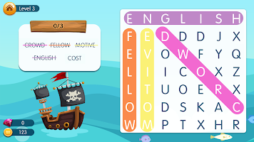 Word Pirates: Free Word Search and Word Games